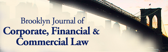 Brooklyn Journal of Corporate, Financial & Commercial Law