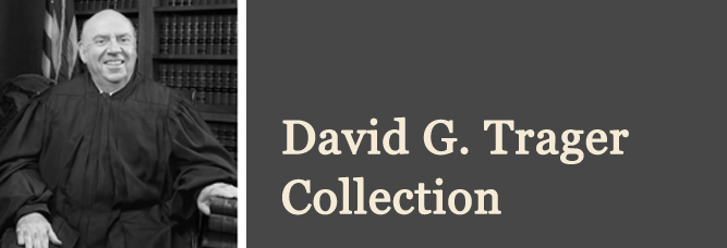 David G. Trager Papers from the NYC Charter Revision Commissions:  Dec. 1986-Nov. 1988 & Dec. 1988-Nov. 1989